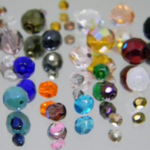 Glass beads and pendants