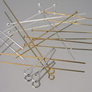 Headpins and eyepins