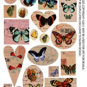 Collage and transfer sheets