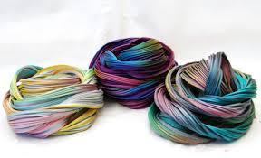 Shibori silkki