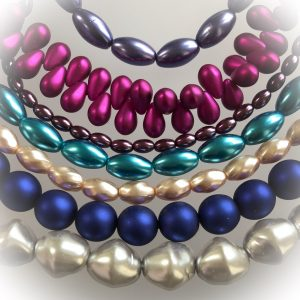 Czech glass pearls